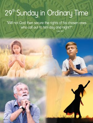 29th Sunday - Call Out to God