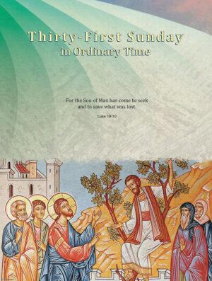 Twenty-Ninth Sunday - Save What was Lost