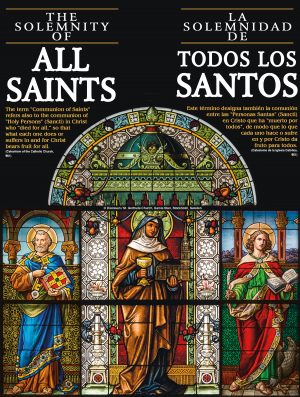 All Saints Stained Glass - Bilingual