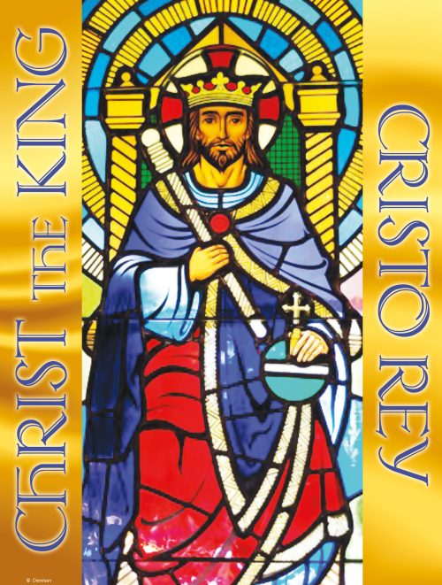 Cristo Rey Stained Glass
