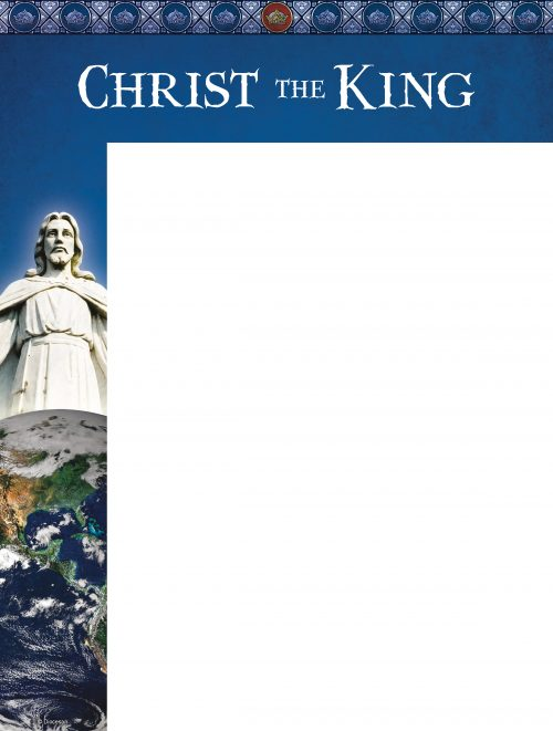 Christ the King Statue Wrapper