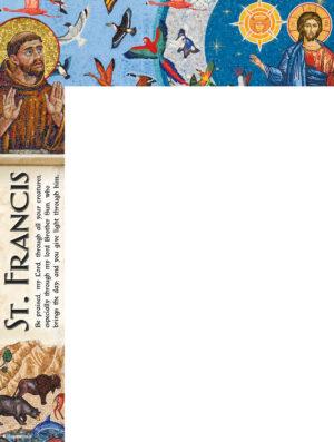 St. Francis Mosaic - Wrapper