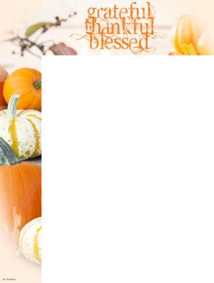 Thanksgiving Grateful Wrapper