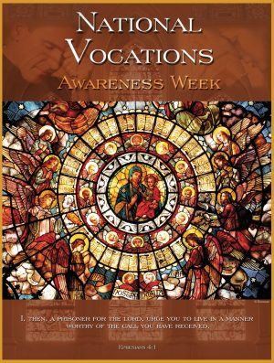 Vocation Awareness Stained Glass