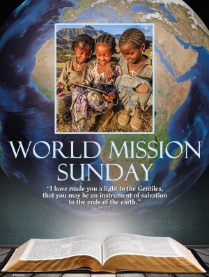 World Mission Sunday - Blue