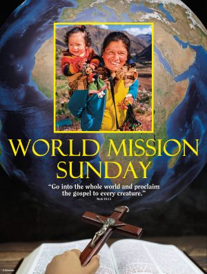 World Mission Sunday - Yellow