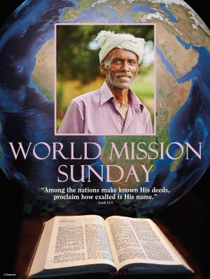 World Mission Sunday - Pink