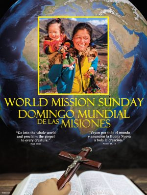 World Mission Sunday - Yellow - Bilingual