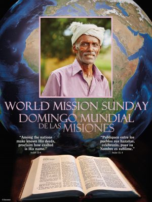 World Mission Sunday - Pink - Bilingual