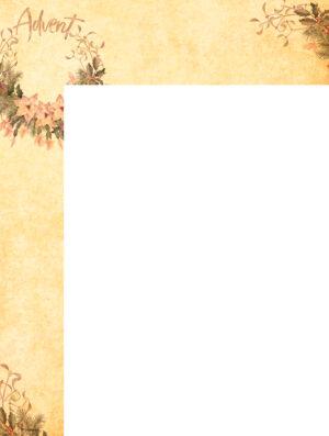 General Advent - Watercolor Wrapper