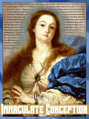 Immaculate Conception - The Lord is With You