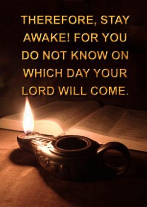 Advent - Week 1 - Gospel - English