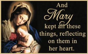 Mary Mother of God - Gospel - English
