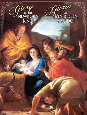 Glory to the Newborn King - Bilingual