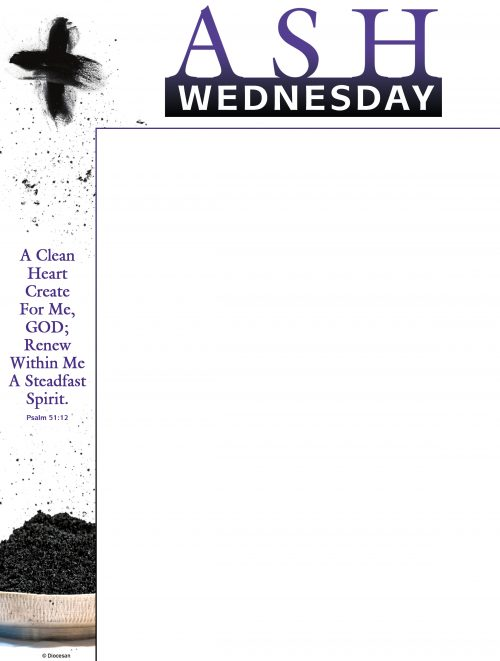 Ash Wednesday Ashes - Wrapper
