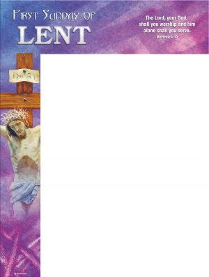 Lent - Week 1 - You shall Worship - Wrapper
