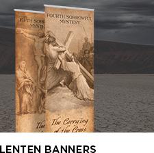 Lenten Banners