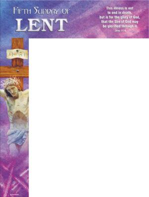 Lent - Week 5- Glory of God- Wrapper