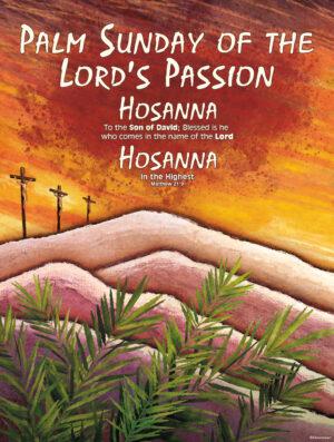 Palm Passion Hosanna