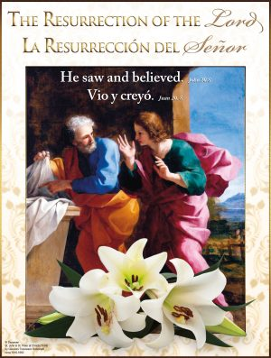 Easter -He Saw and Believed - Bilingual