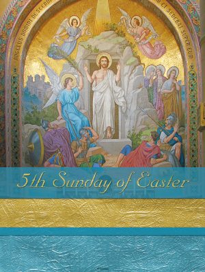 Easter Blue and Gold - 5th Sunday