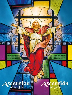 Ascension Stained Glass Bilingual