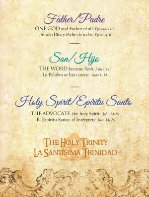 Father Son Holy Spirit Bilingual