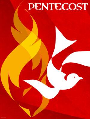 Pentecost Modern Flames