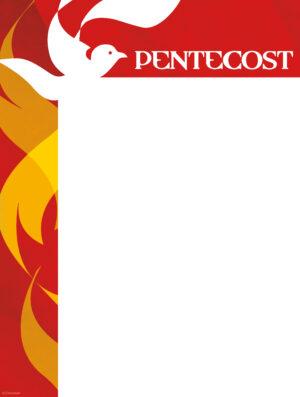 Pentecost Modern Flames - Wrapper