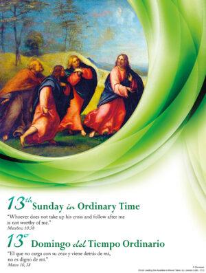 13th Sunday Traditional - Bilingual