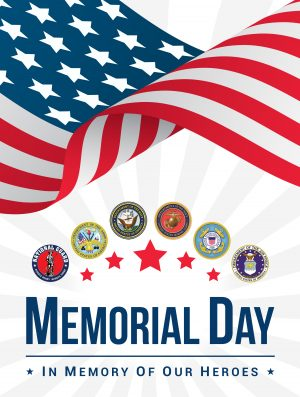 In Memory of Our Heroes Badges
