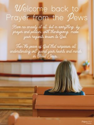 Prayer from the Pews