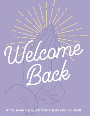 Welcome Back - Purple