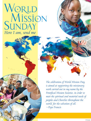 World Mission Sunday - Here I Am