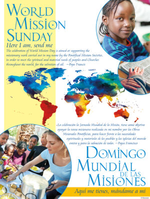 World Mission Sunday - Here I Am - Bilingual