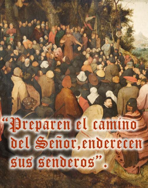 Second Sunday of Advent - Gospel - Spanish