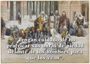 Ash Wednesday - Gospel - Spanish