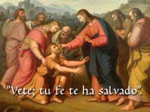 Ordinary Time - Week 30 - Gospel - Spanish