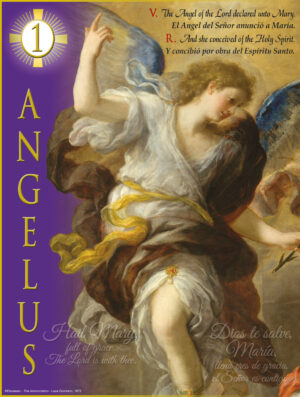 Advent - Angelus 1 - Bilingual
