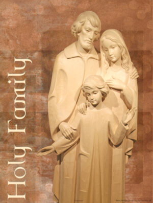 Holy Family - Statue