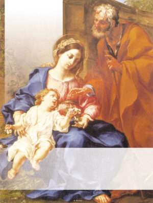 Holy Family - Traditional - Blank