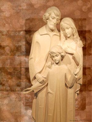 Holy Family - Statue - Art
