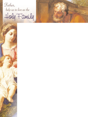 Holy Family - Traditional - Wrapper