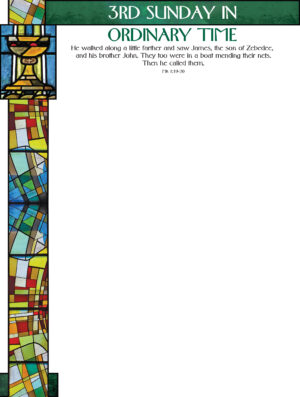 2nd Sunday of Ordinary Time - Stained Glass - Wrapper