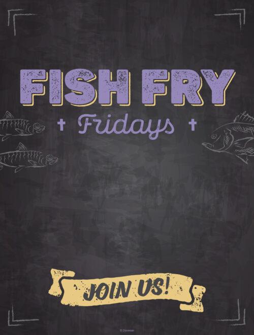 Fish Fry Chalkboard
