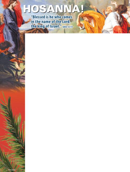 Palm Sunday - Hosanna - Wrapper