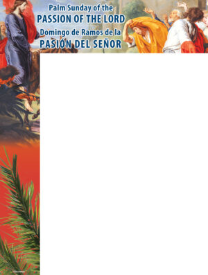 Palm Sunday - Hosanna - Bilingual Wrapper