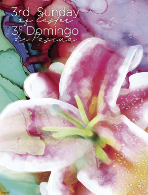 Colorful 3rd Sunday of Easter Bilingual