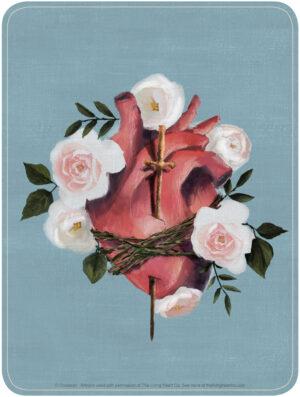Immaculate Heart - The Living Art Co. - Artwork