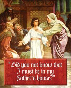 Saint Joseph - Gospel - English